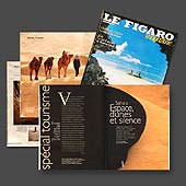 796 - Le Figaro magazine - Sahara - 6 pages