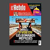 10481 - L'Hebdo N� 11, 13 mars 2008 - couverture et interieur