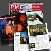 10691 - PME Magazine 0810, 30.09.2008 - La passion des vignes