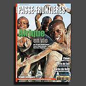 10692 -  magazine passe-frontieres, Afrique, couverture
