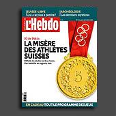 10693 - L'Hebdo n� 31 - 31.07.2008, couverture et montage