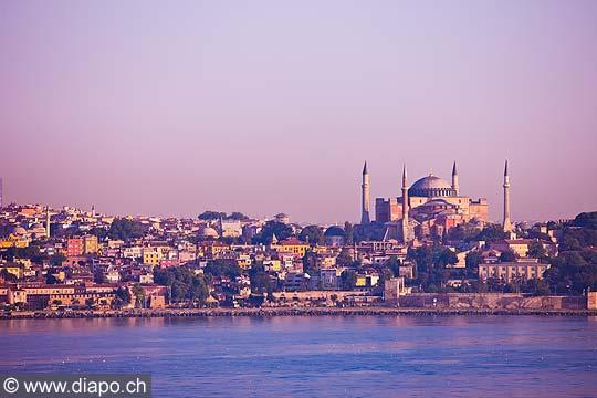 10717 - Photo : Istanbul, Turquie, Sainte-Sophie