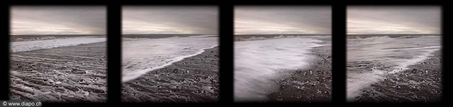 10967 - Photo : Islande, terre de glace - plage de Skogafjara