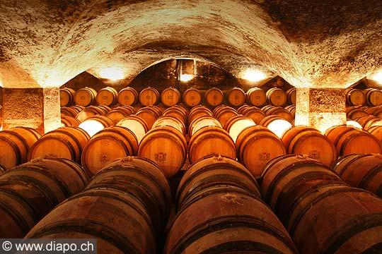 11979 - Photo: Les caves du Château de Meursault, Bourgogne, France