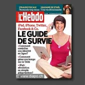 12877 - Magazine L'Hebdo n�17, 2010