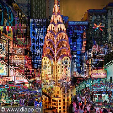Hd 13030 fine art chrysler building new york collection