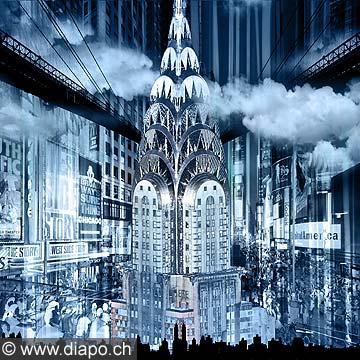 13031 - FINE ART - Chrysler_Building - New York - Collection Transparencies - www.regiscolombo.com