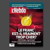 13125 - Magazine L'Hebdo L'Hebdo n�2, 2011 - cr�ation de la couverture  - fichier PDF