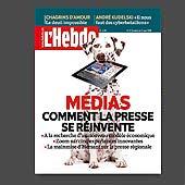 13134 - L'Hebdo n�16, 2011 - couverture et montage photo