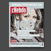 13136 - L'Hebdo n�19, 2011 - couverture et montage photo