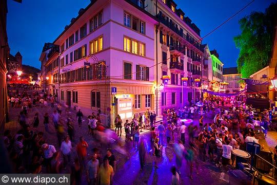 13171 - Lausanne, fêtes de la Cité