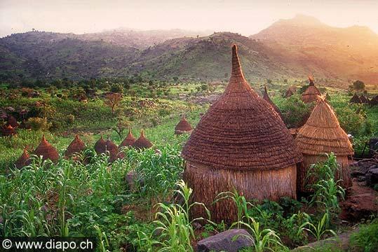 3548 - Nord Cameroun - Village de Medjeguele