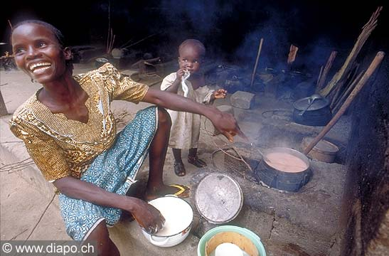 3568 - Nord Cameroun - La cuisine