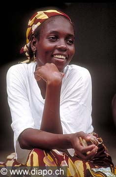 3569 - Nord Cameroun - portrait de femme