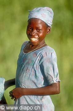 3578 - Nord Cameroun - portrait d'enfant