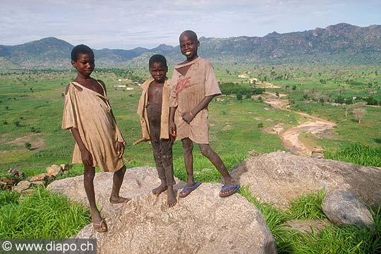 3579 - Nord Cameroun - Sur la colline de Baba Simon