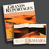 8320 - Grands Reportages France - Cover et ouverture du dossier