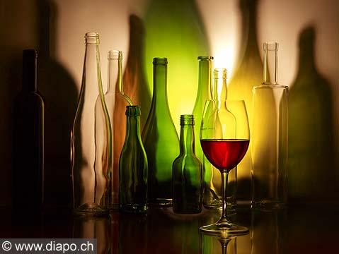 9632 - Photo, bouteille de vins