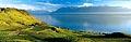 217 - Photo : Suisse, canton de Vaud, vignoble de Lavaux, et le Lac Léman