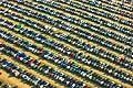 10665 - 33em Paléo festival de Nyon - 2008, Photo voitures, parking, vue du ciel