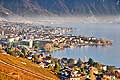 10716 - Photo : Suisse, canton de Vaud, Vevey et Montreux - Switzerland