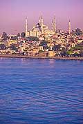 10729 - Photo : Istanbul, Turquie, la Mosquée bleue