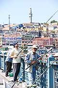 10825 - Photo : Istanbul, Turquie, le Pont du Galata