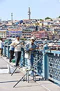 10826 - Photo : Istanbul, Turquie, le Pont du Galata