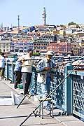 10827 - Photo : Istanbul, Turquie, le Pont du Galata
