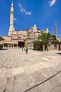 10881 - Photo : Istanbul, Turquie, Sainte-Sophie