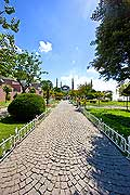 10882 - Photo : Istanbul, Turquie, la Mosquée bleue