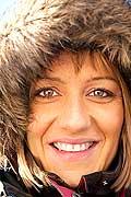 11068 - Photo :  Norvège,  Arctique, îles Lofoten, femme norvégienne