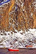 11147 - Photo :  Norvège,  Arctique, îles Lofoten, village de svolvaer sur l\'île de Austvagoy