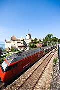 11267 - Photo :  Suisse - Château de Chillon au bord du Lac Léman