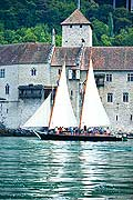 11327 - Photo :  Suisse - Château de Chillon au bord du Lac Léman