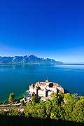 11335 - Photo :  Suisse - Château de Chillon au bord du Lac Léman