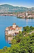 11339 - Photo :  Suisse - Château de Chillon au bord du Lac Léman