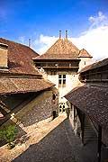 11403 - Photo :  Suisse - Château de Chillon au bord du Lac Léman