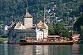 11442 - Photo :  Suisse - Château de Chillon au bord du Lac Léman