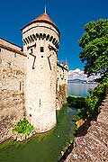 11449 - Photo :  Suisse - Château de Chillon au bord du Lac Léman