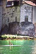 11454 - Photo :  Suisse - Château de Chillon au bord du Lac Léman
