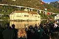 11599 - Photo : Suisse - Château de Chillon au bord du Lac Léman