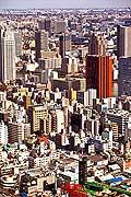 11650 - Photo :  Japon, Tokyo, vue aérienne depuis le quartier de Shiodome City Center