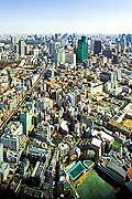 11721 - Photo :  Japon, Tokyo, vue depuis Roppongi Hills