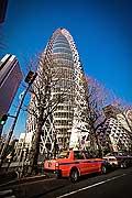 11790 - Photo :  Japon, Tokyo, quartier de Shinjuku, Mode Gakuen Cocoon Tower