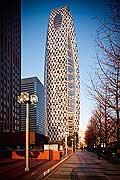 11798 - Photo :  Japon, Tokyo, quartier de Shinjuku, Mode Gakuen Cocoon Tower