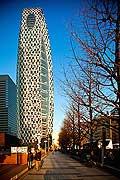 11799 - Photo :  Japon, Tokyo, quartier de Shinjuku, Mode Gakuen Cocoon Tower