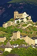 12006 - Photo: Suisse, Valais, La basilique de Valère,  switzerland, swiss wines - wein, schweiz