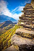 12007 - Photo: Suisse, Valais, vignoble de Sion, la Cotzette, switzerland, swiss wines - wein, schweiz
