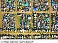 12182 - 33em Paléo festival de Nyon - 2008, Photo de musique, spectacle et concert - vue aérienne